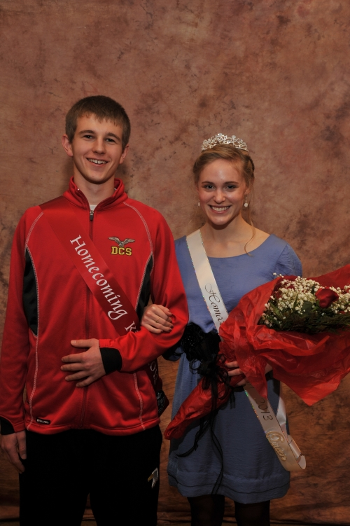 Ridge and Tobin named royalty