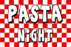 Pasta Night - Friday, January 27